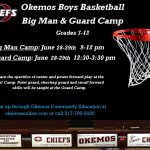 2016 Boys Basketball Big Man & Guard Camp