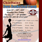 Boys Basketball Summer Camp Sign-up