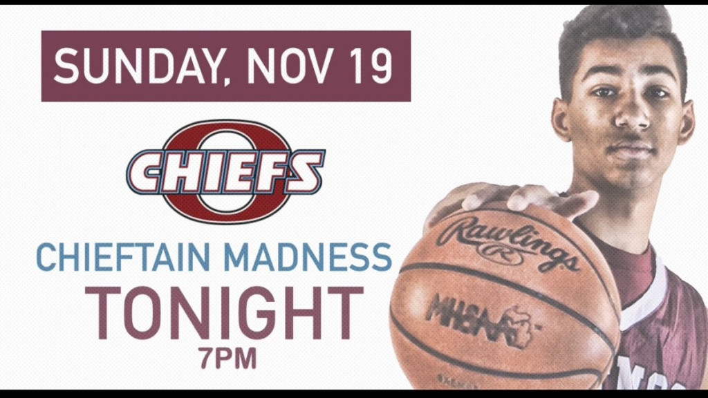 Chieftain Madness November 19th