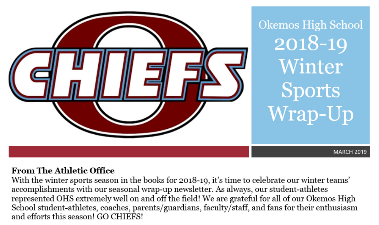 In the News: OHS Winter Sports Wrap-Up