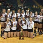 Padua Volleyball wins State Championship!