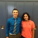 Jones and Hanna honored as Boosters Student-Athletes of the Month for August