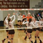 Volleyball Team rolls in Straight Sets against Fairview