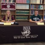 Stansbury and Kaminski sign National Letters of Intent