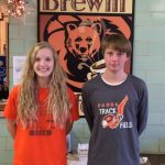 Flemming and Stansbury Honored as Boosters Studnet-Athletes of the Month for October