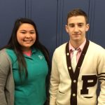 Panza and DeCesare Honored as Boosters Student-Athletes of the Month for December