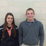 Rauhe and Kaminski Chosen as Boosters Student-Athletes of the Month for January