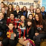 Figure Skating wins State Competition for 3rd year in a row