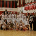 Girls Basketball defeats Bay to become District Champs for the 1st time since 2004