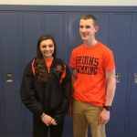 Moysaenko and Wallace Chosen as Boosters Student-Athletes of the Month for February