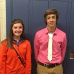 Pullar and Casselberry Honored as the Boosters Student-Athletes of the Month for September.