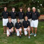 Padua Franciscan High School Boys Junior Varsity Golf falls to Archbishop Hoban High School 178-180