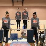 Gymnastics finishes 5th at Rock and Roll Classic