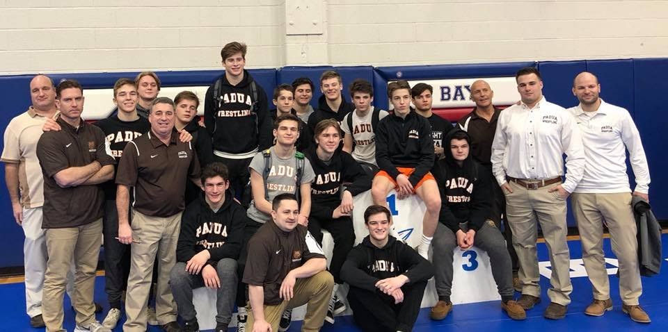 Wrestling Team Claims Sectional Championship; 9th Overall Title