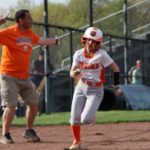 Girls Varsity Softball falls to Holy Name 6 – 2