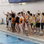 Girls Swimming defeats Valley Forge; Boys Team suffers heartbreaking Loss