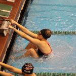 Girls Varsity Swimming beats Fairview Park 116 – 59