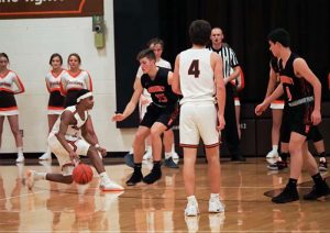 Boys Basketball Photos vs Normandy