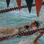 Swimming Results from EC Pentathlon