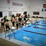 Bruin Swimmers Advance to Districts
