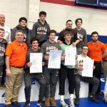 Wrestling Team Captures 4th Consecutive Sectional Championship; 10th Title in Program History