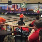 Freshman Tahsler represents Padua in State Girls Bowling Tournament