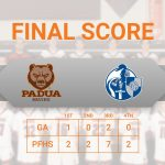 Bruins outscore Lancers in 2nd Half; beats Gilmour Academy 13 – 3