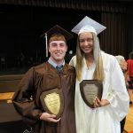 Starkey and Leigh named Mr. and Miss Bruin