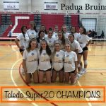 Volleyball goes Undefeated and claims Toledo Super 20 Tournamnet