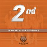 Volleyball Ranked #2 in OHSVCA