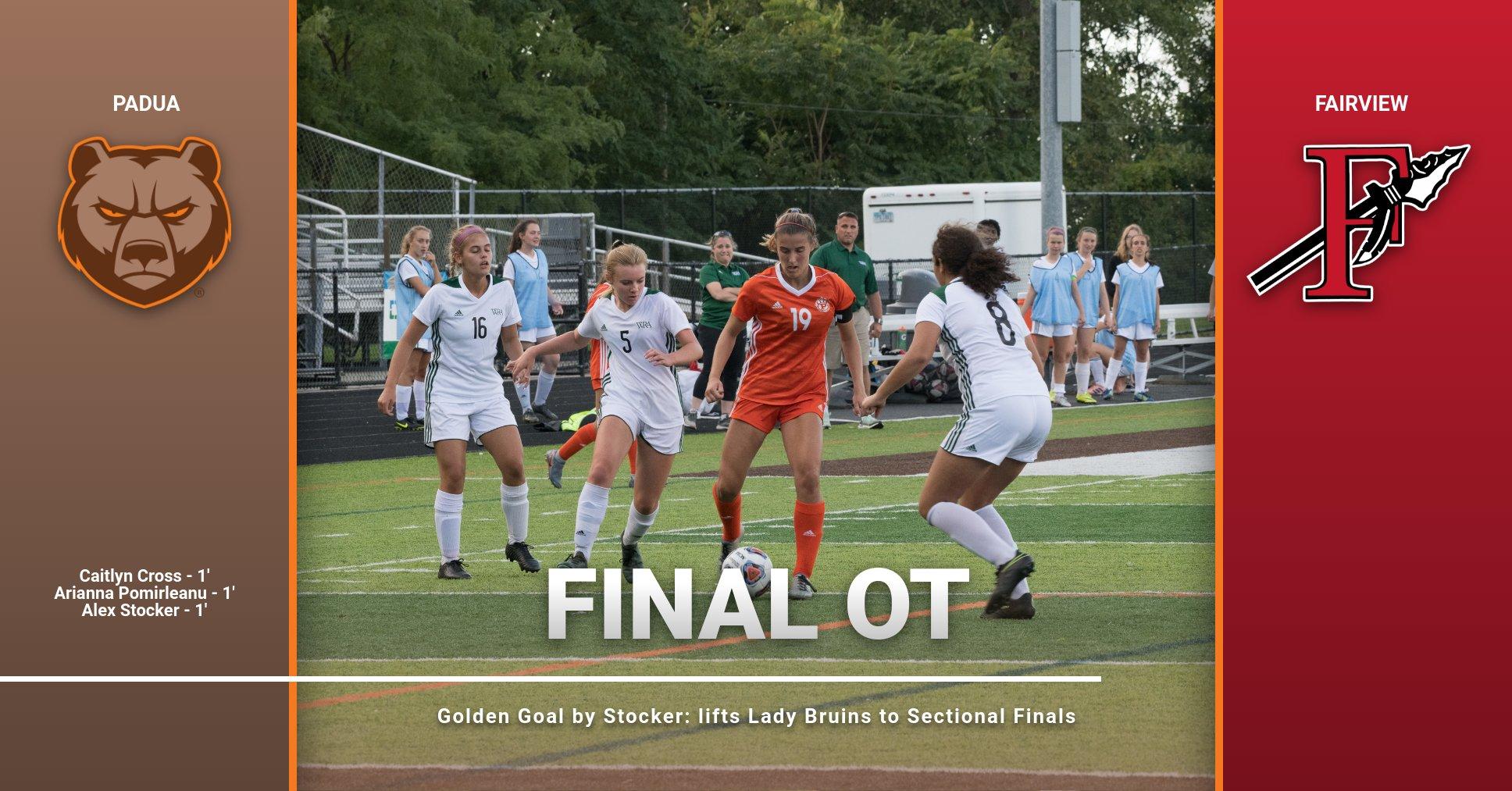 Stocker Golden Goal secures Sectional OT Thriller on Monday Night