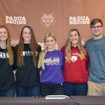 Five Seniors Commit to College Athletics
