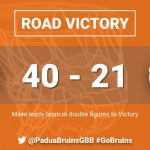 ICYMI: Strong 2nd half lifts Bruins to Road Victory