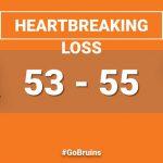 Varsity Boys suffers heart breaking road loss