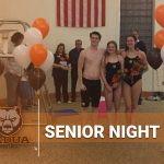 Bruin Swimmers Claim Final Home Dual Meet Victory on Senior Night
