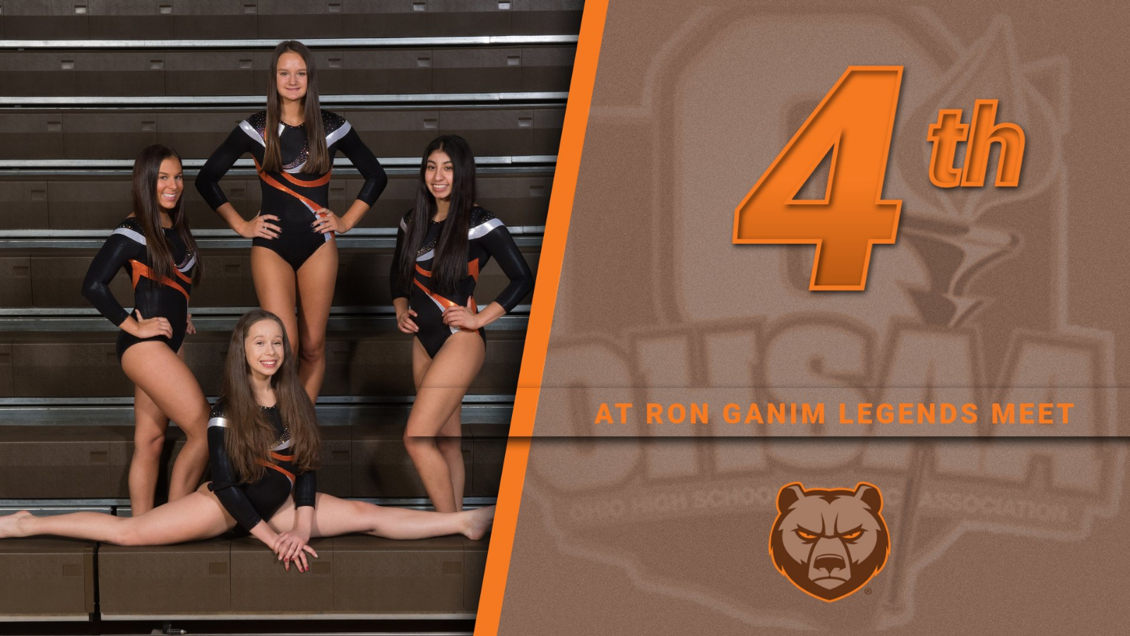 Padua Gymnasts Capture Top 5 Team Performance at Ron Ganim Legends Meet