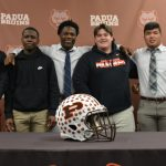 Six Football Student-Athletes Commit to Intercollegiate Athletics