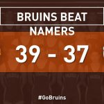 Bruin Wrestlers defeat Namers in Dual Match