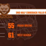 Boys Basketball Strong 2nd Half Comeback Falls Short