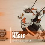 Conor Nagle Named to Great Lakes Hockey League All Scholar Team