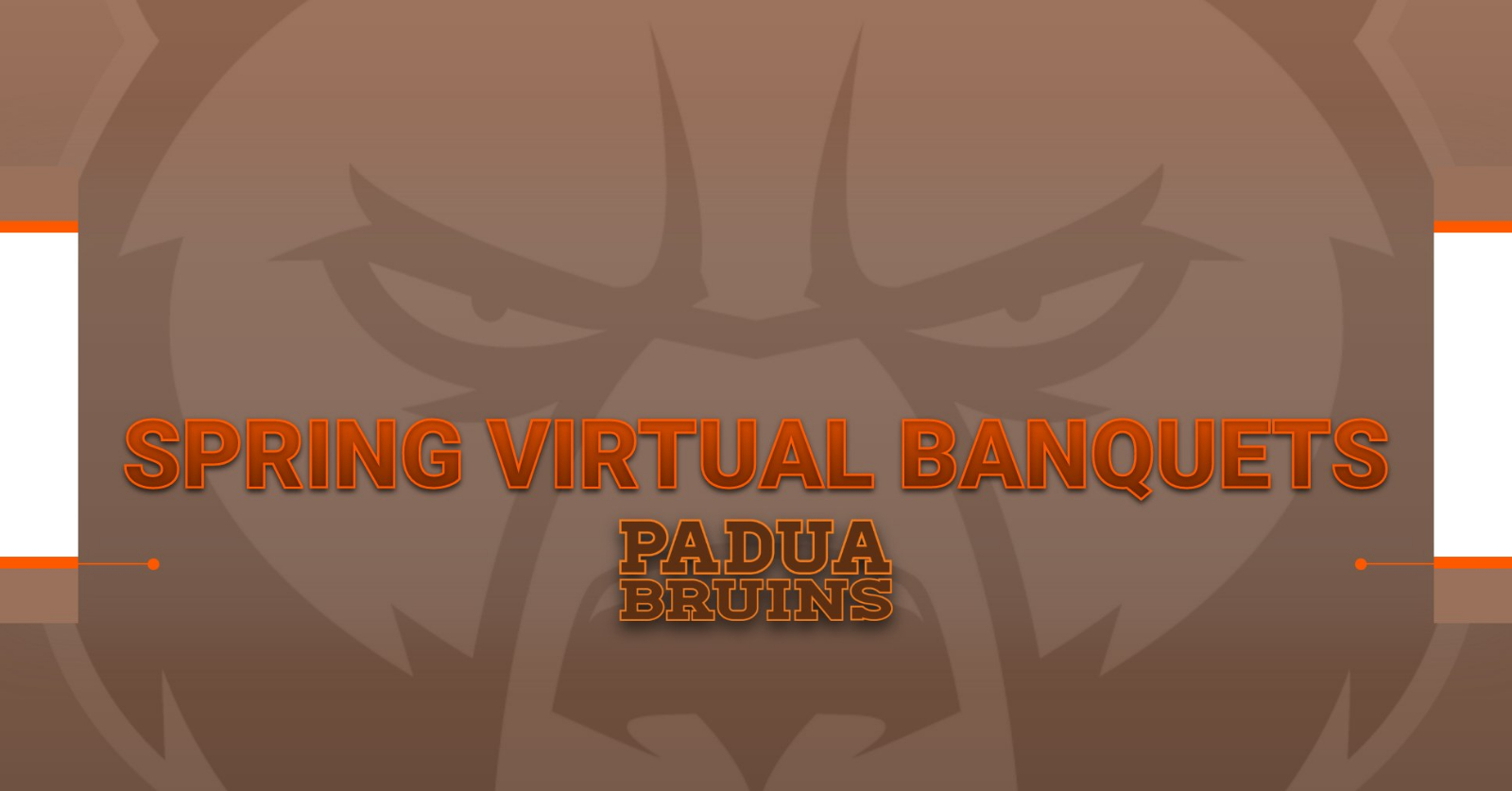 Athletic Department Holds Spring Virtual Banquets Honoring Teams