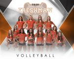 Girls Freshman Volleyball sweeps Wooster 2 – 0