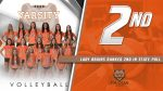 Volleyball Ranked 2nd in Latest Coaches Poll
