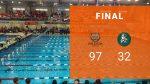 Boys Varsity Swimming beats Lake Catholic 97 – 32