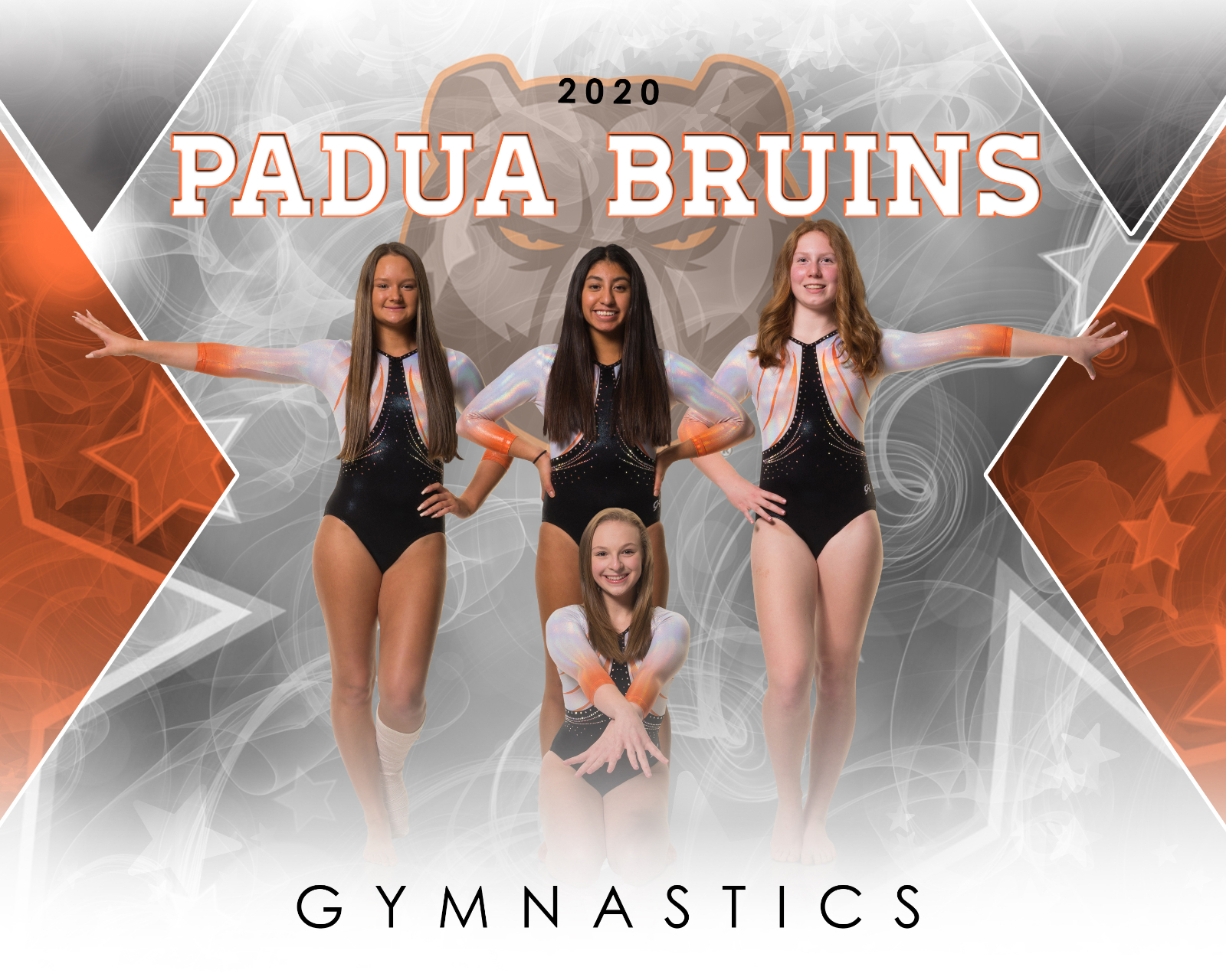 Lady Bruins Gymnasts fair well on MLK Day Meet