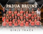 Girls Track finishes 8th place at Meet @ Bay High School