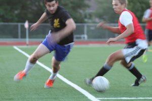 Alumni Soccer Game 8.13.2014
