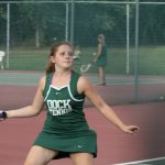 Girls Tennis wins close match over Upper Perk