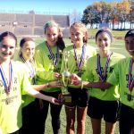 Girls CC makes history with District gold