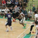 Boys V Basketball falls to PJP 53-64